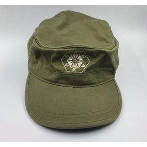 Econscious Military Style Hat Cap Olive Green